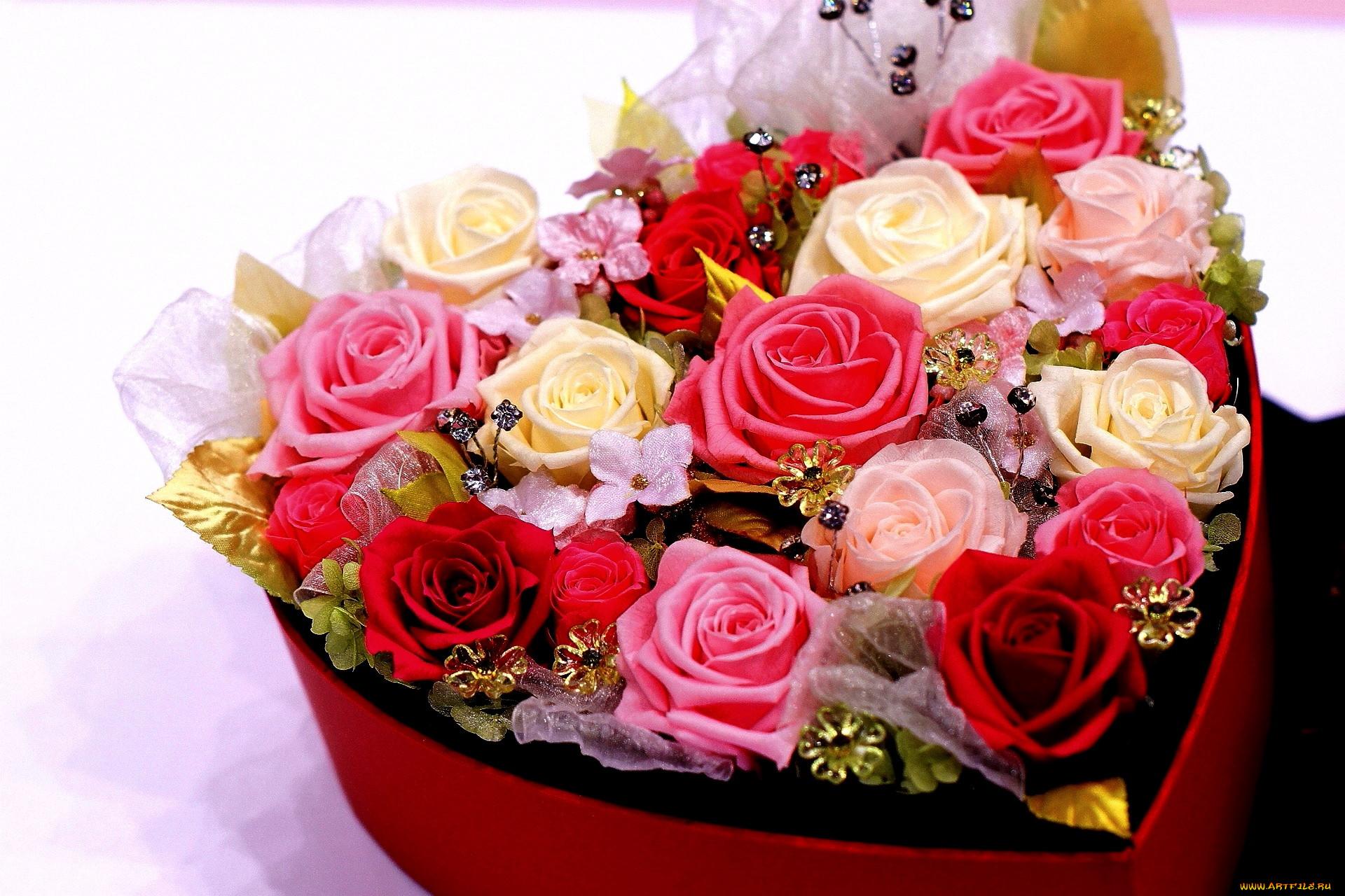 картинки букет цветов от меня стали